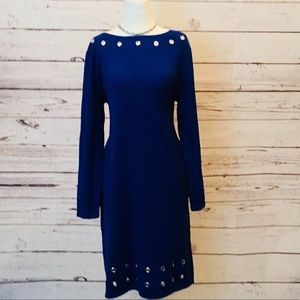 Dresses & Skirts - Grommeted sweater dress